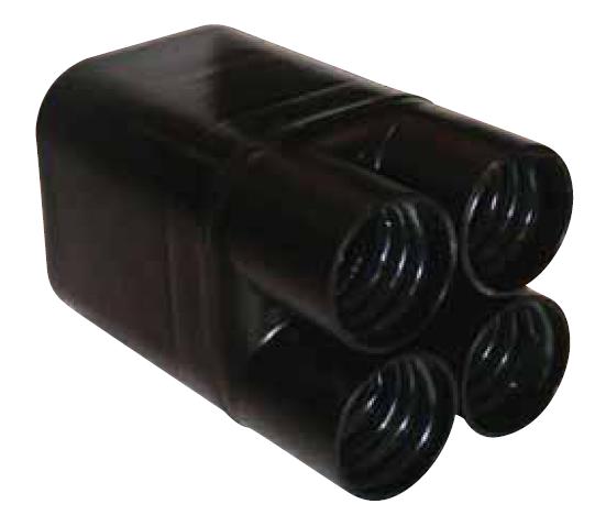 ERIS Ref : E4R50-150 - Extrémité thermorétractable 4 x 50-150 mm²