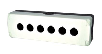 boite bouton 6 trous diam tre 22 grise ip67 ref eris es36000 gamme industrielle. Black Bedroom Furniture Sets. Home Design Ideas