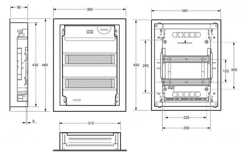 Dimension Tableau Electrique : dimension coffret edf compteur et coffret de chantier edf ~ Melissatoandfro.com Idées de Décoration